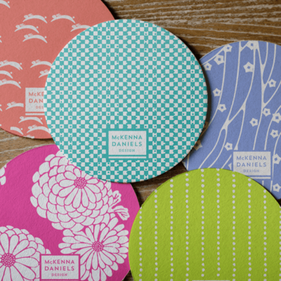 McKenna Daniels Design | Promotional Coaster Design