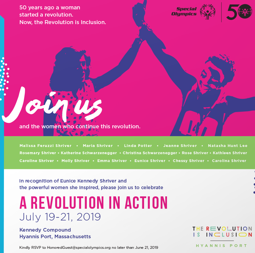 Special Olympics   A Revolution in Action