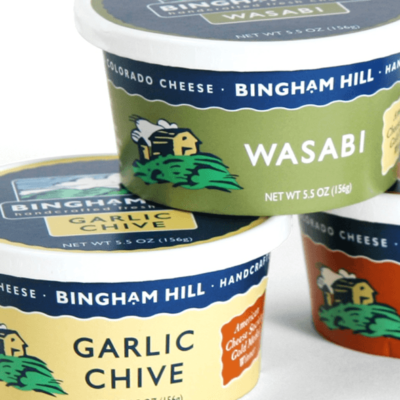 Bingham Hill | Branding and Packaging Artisanal Cheese Company