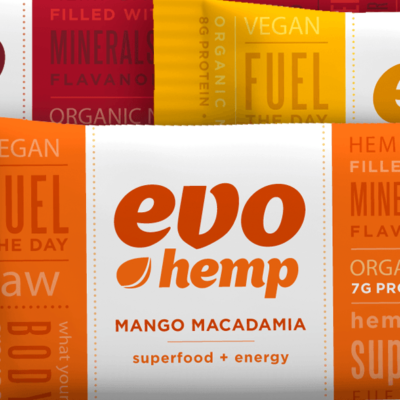 Evo Hemp Bar | Packaging an Organic Nutrition Bar