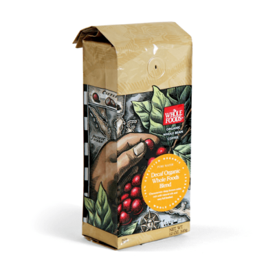 Whole Foods | Packaging Organic Coffee