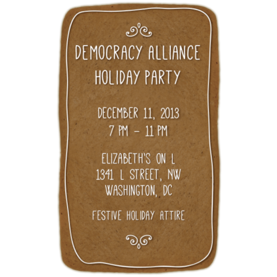 Democracy Alliance | Holiday Party